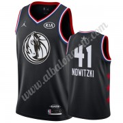 Camisetas NBA Baratas Dallas Mavericks 2019 Dirk Nowitzki 41# Negro All Star Game Swingman..